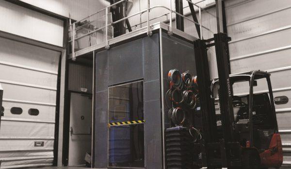 controllo vertic sicurezza in altezza